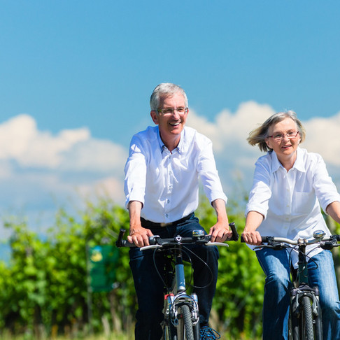 Why cycling makes you live longer - and why you're never too old to start