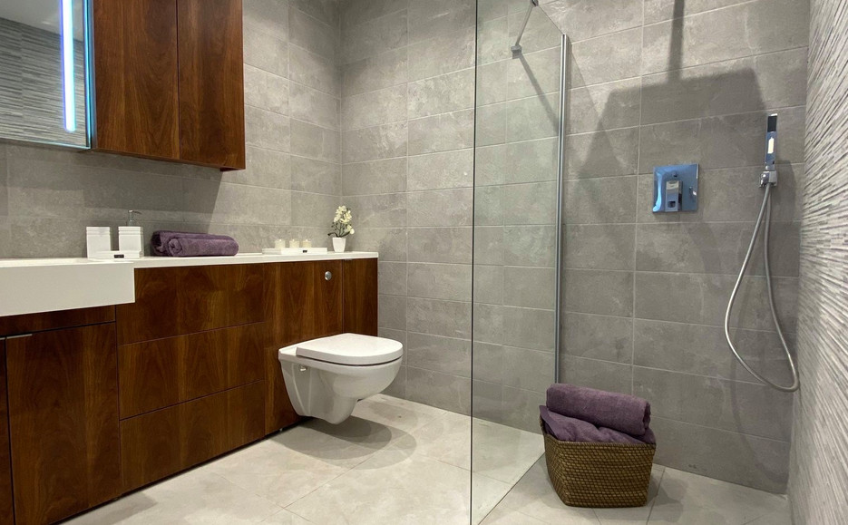 Typical Apartment Interior - Shower Room
