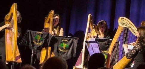 Meet Mere Harps, playing at Scalesceugh Hall Nov 24
