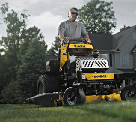 DeWALT enters the Commercial Mowing Game with Home Depot