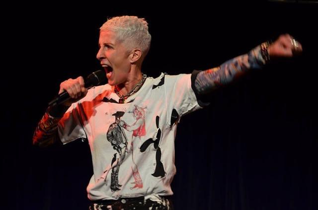 Karen Fischer in Rebel Dyke