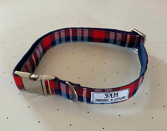 SOLM (Retro Racing) large dog collar