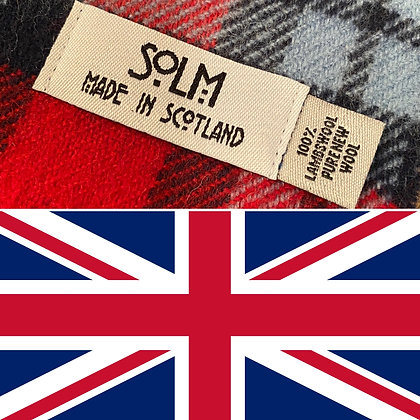 SOLM (Retro Racing) Lambswool Scarf