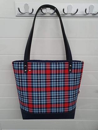 SOLM (Retro Racing) Large Tote Bag