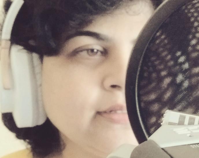 Priti Khan on the job