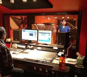 Recording Studio - Adrenaline Rush for an Artist!