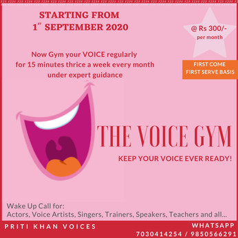 The Voice Gym