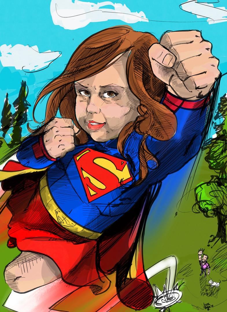 Super Girl commission