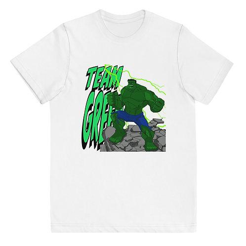 TEAM GREEN! - Youth jersey t-shirt