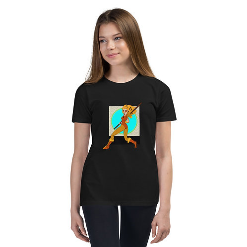 Quick Cat - Youth Short Sleeve T-Shirt