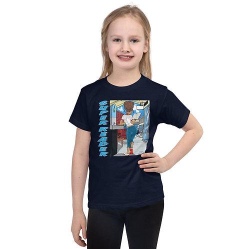 Super Reader Series - Short sleeve kids t-shirt