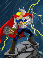 thor animated still in infinity style sm