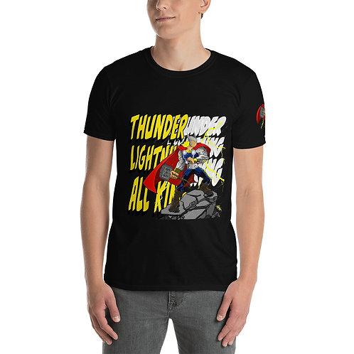 Thunder Lightning All King - Short-Sleeve Unisex T-Shirt