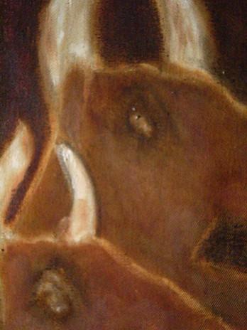Minotaure en Miroir, détail