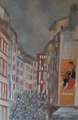 Bayonne, l'Affiche des Fêtes    75 x 120