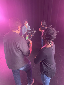 Unmasked (Behind the scenes)