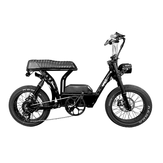 Bandit Moped  (Trooper Frame/ BLACK)