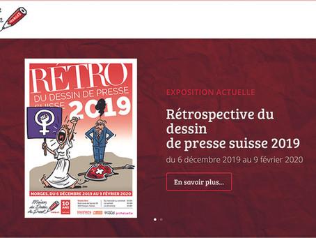 Exposition du Dessin de Presse Suisse 2019