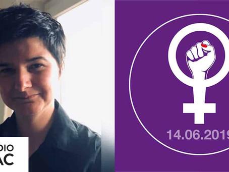 Exclusivité: le logo de la grève des femmes est l'œuvre de Charlotte Passera
