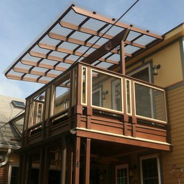 Deck rebuild and redesign