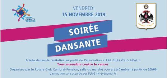 /Soirée dansante organisé par le Rotary Club de Cambrai\