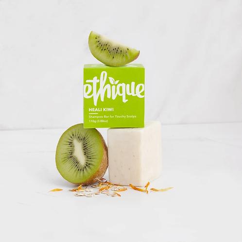 Heali Kiwi Solid Shampoo Bar For Touchy Scalps- 110g