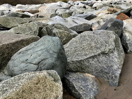 ROCK ARMOUR OR RIPRAP