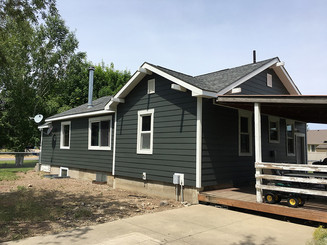 James Hardie Iron Gray Siding