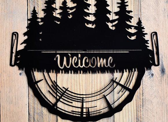 Lumberjack Welcome