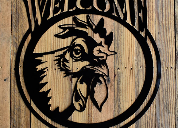 Rooster Welcome