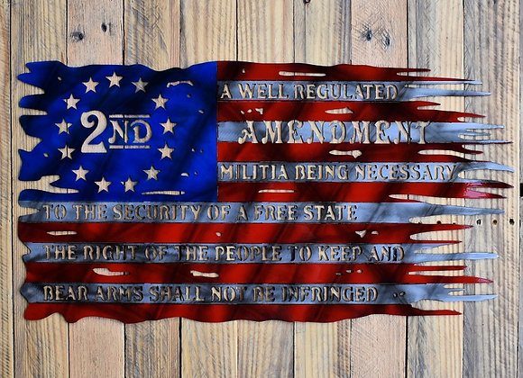 Detailed 2A Flag