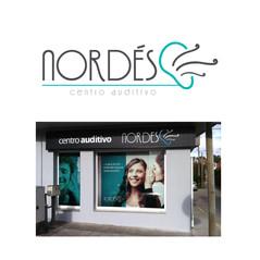 Imaxe corporativa para o Centro Auditivo Nordés