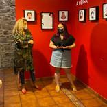 """Inauguración da exposición """"Fortes, agora e antes"""" de Morgana e fillas"""