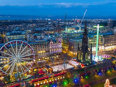Christmas Markt Edinburgh