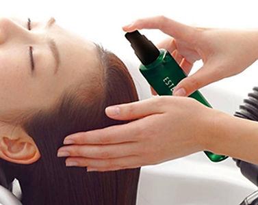 頭皮を整え髪の自然な立ち上がりと髪を育てる美容院の頭皮のコンディショニング
