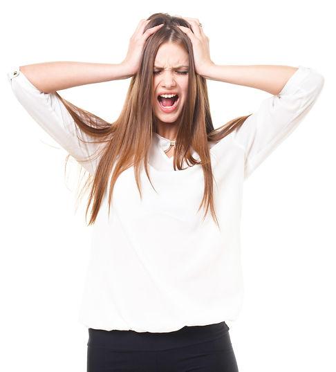 クセ毛に悩み、縮毛矯正、ストレートをしたい女性