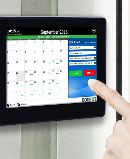 BOOKIT - INCLUDES ONE PANEL, ONE LICENSE AND A SIMPLE WALL MOUNTING SYSTEM