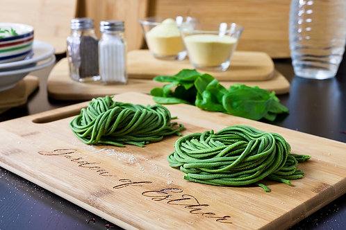 Spinach Linguine (Vegan)