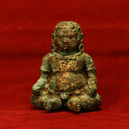 MADJAPAHIT EXCAVATED BRONZE FIGURE