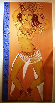 """SAPNA  """"The dream"""" by AUDE GOOLY"""
