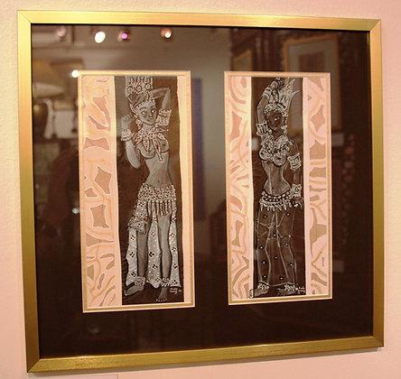 TILOTTAMA & NIRUPAMA by AUDE GOOLY
