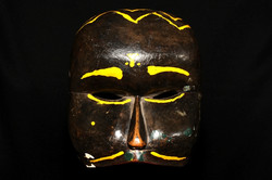 "CIREBON OLD MASK ""TOPENG"" OF BONDRES"
