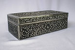 silver box; cambodia; tobacco box
