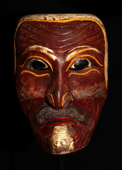 LOMBOK ISLAND OLD MASK OF PEDANDA