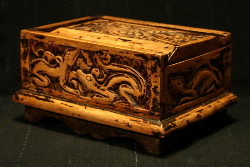 LOMBOK OLD WOODEN BETEL BOX