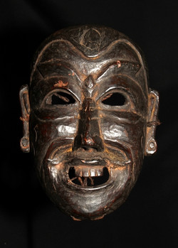 HIMALAYAN ARUNACHAL PRADESH ANTIQUE MASK OF APA