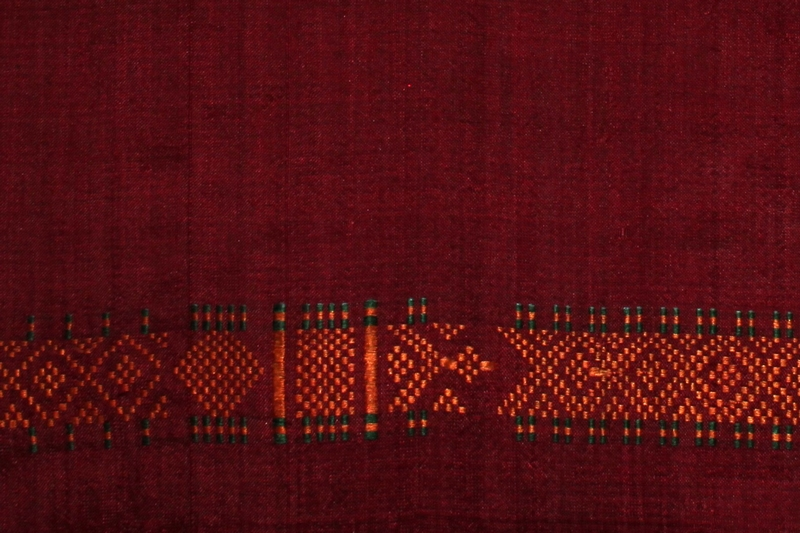 CAMBODIAN SILK LONG HIPWRAPPER