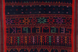 BATAK CEREMONIAL BEADED TEXTILE