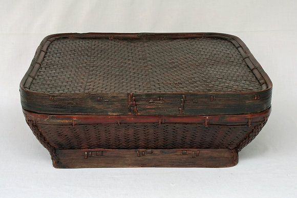 PHILIPPINES IFUGAO ANTIQUE RICE BOX