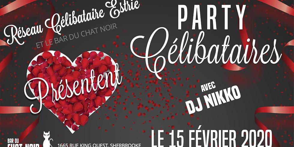 ❤️ Party St-Valentin Réseau Célibataire Estrie 💜
